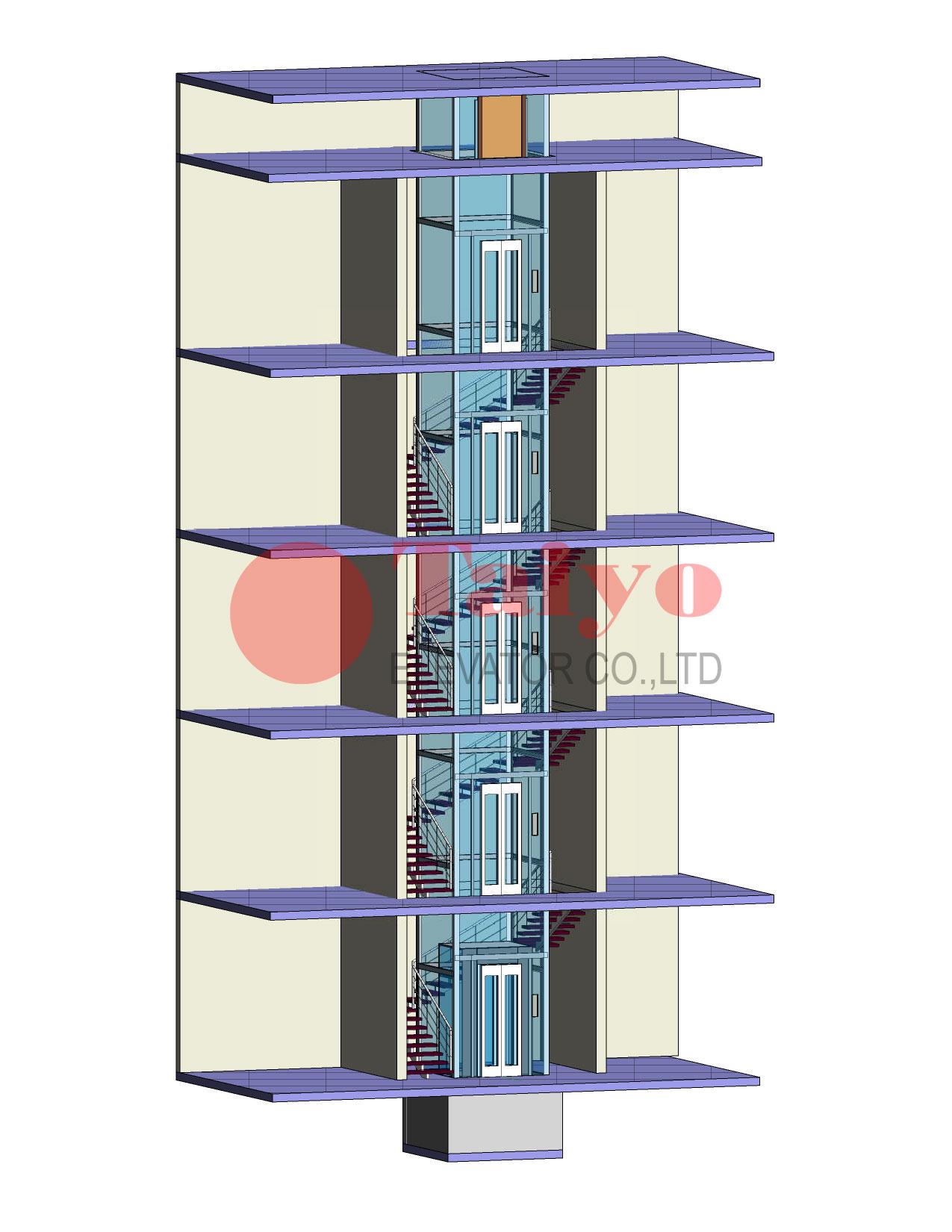 Giá thang máy gia đình khoảng bao nhiêu? Bản sẽ thang máy như thế nào?