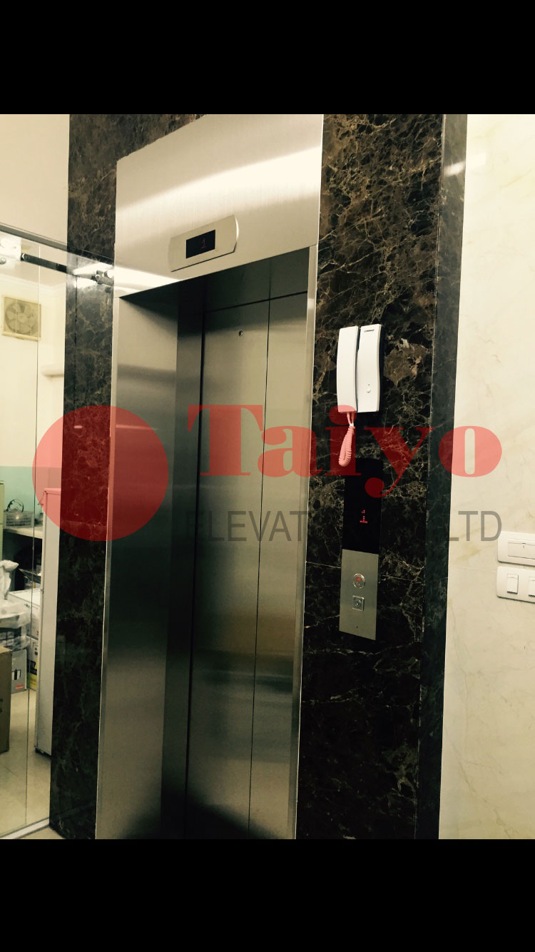 Khung bao bản rộng cho thang máy